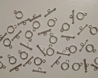 20 Sterling Silver Toggle Sets