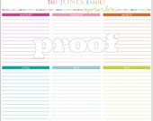 Personalized Important Dates Printables