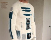 CUSTOM made to order -- Star Wars R2D2 sweater