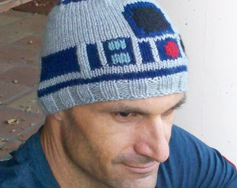 R2D2 Droid ski toque/hat - Icy Hoth edition, MERINO WOOL