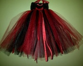 Listing reserved as Custom for Leewayne1993 double layer red and black tutu