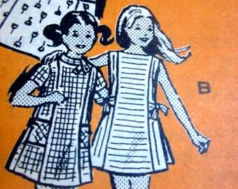Pattern Department Mail Order 4603 Girls 60s Mini Dress Sewing Pattern Size 10 Breast 28
