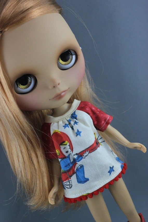 Blythe Smock Style Dress - Retro Kids Space