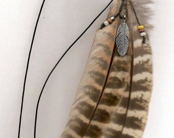Pheasant  Wing Feathers  Hanging Air Freshner Or Necklace