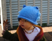 Blue Monster  Baby Hat