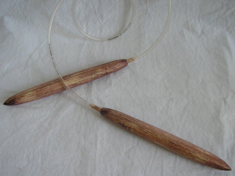 Size 50 Knitting Needles Patterns : Items similar to Size 50 Huge Hand Made Circular Knitting Needles for Sasquat...