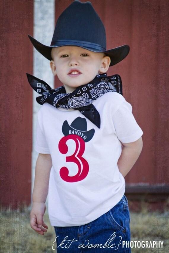 Western Shirts Cowboy Birthday Number Shirt Bull Rider