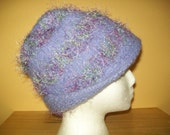 Vintage Inspired Lilac Felted Cloche Hat