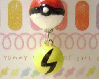 POKEMON : Pokeball with Basic Energy Necklace
