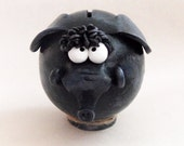 Blue Elephant Ceramic Piggy Bank Handmade for BABY SHOWERS anniversaries, birthday GIFT