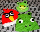 Angry Birds Adult Beanie Hats CHOOSE ONE