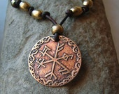 Custom Bind Rune Necklace - Viking - Your choice of runes