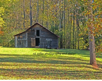 Old Barn Out Back 8 x 10, signed