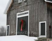 Barn Christmas Cards - Set of 10