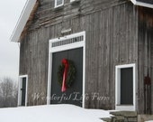 SALE (50% off) - Barn Christmas Cards - Set of 10
