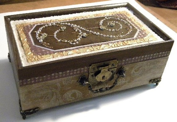 Vintage Design Jewelry Box
