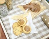 30 Self Adhesive Seal Cookies or Biscuits Bag