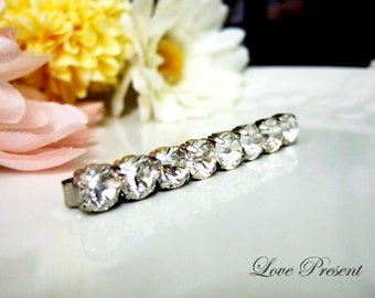 Extra Shine Bridesmaids Hair Jewlery Hair Bobby Pin with Swarovski Crystal - Choose your color