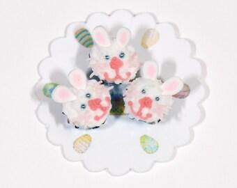 Easter Bunny Miniature Cupcakes