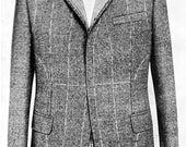 Custom Tailored Lounge Coat / Jacket circa 1964 Germany