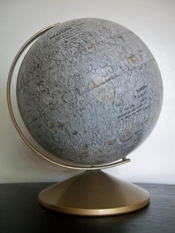 Vintage Replogle Moon Globe - Like New - TREASURY PICK - RESERVED For qteakits