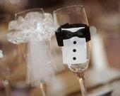 CHAMPAGNE FLUTES EMBELLISHMENTS, Weddings, Wedding Favors, Bridal Showers
