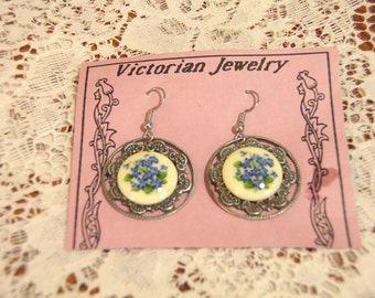 Vintage Victorian Style Earrings