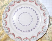 SILLY SALE - Mini Caravan Pattern Vintage Plate - 15% off using coupon code
