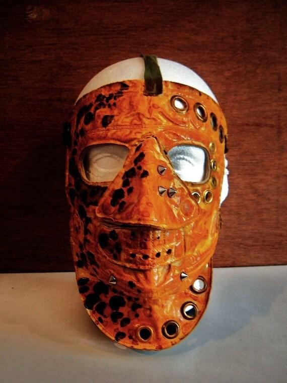 Post Apocalypse Hun Leopard Mask By Mountainkingforge On Etsy