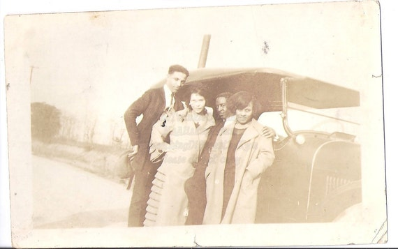 Date Night Photo, Vintage Photograph, African American