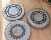 COASTER SET - bike gear and concrete