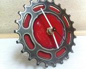 DESK BIKE CLOCK - reclaimed bike gear