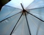 Light Blue Vintage Umbrella
