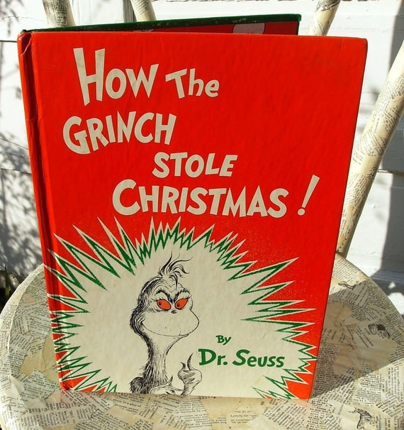 How the Grinch Stole Christmas, Dr.Seuss, 1985 copy
