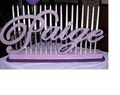 Sweet 16 Candelabras - Mitzvah Candle Lighting Boards