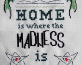 Home is Where the Madness Is - PDF Cthulhu Cross Stitch Pattern