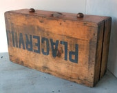 Old Wooden Box-Reserved for K