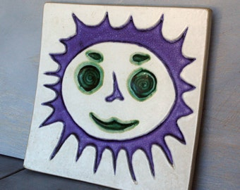 Bennington Sun Art Tile