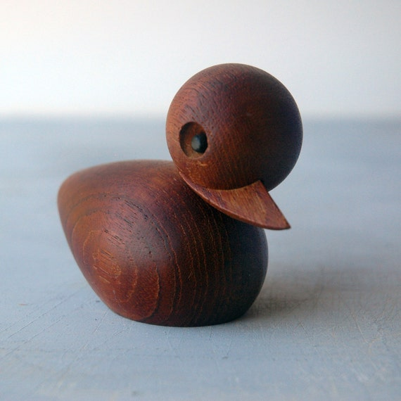 Modern Teak Duckling