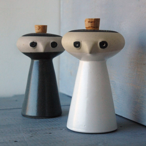 Bennington Salt & Pepper Shakers
