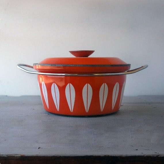 Cathrineholm Orange Lotus Pot