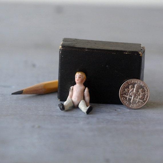 Miniature Bisque Doll