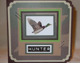 "Birthday Card ""Hunter"""