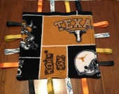 University of Texas themed square lovey