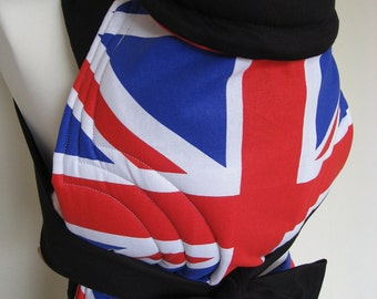 MEI TAI Baby Carrier / Sling / Reversible/ Olympics GB Edition in straight cut model