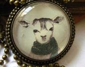 Jewelry lovely deer pendant