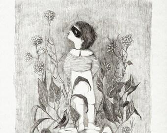 yesterday child - giclee print