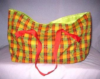 Cornucopia In Bloom placemat hand bag purse tiny tote child's handbag girls Intl