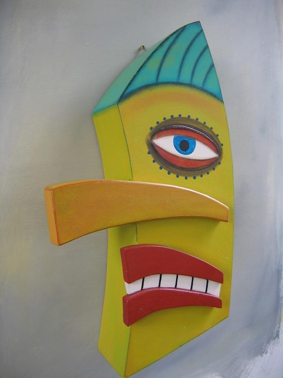 Guster-Original Wood Sculpture, FigJamStudio