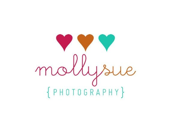 Cute Photography Logo Photography Logo Premade